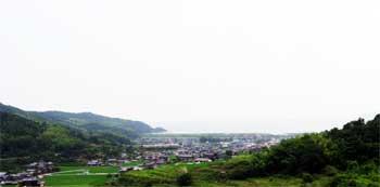 山口県 旧山陽道を行く 山口県防府市(富海)