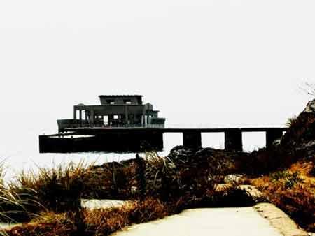 山口県おでかけ情報 山口県周南市 人間魚雷回天の島 大津島の馬島港